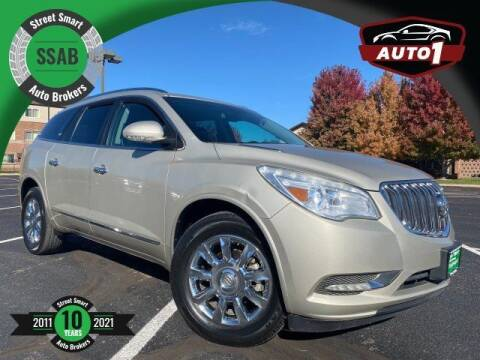 2014 Buick Enclave for sale at Street Smart Auto Brokers in Colorado Springs CO