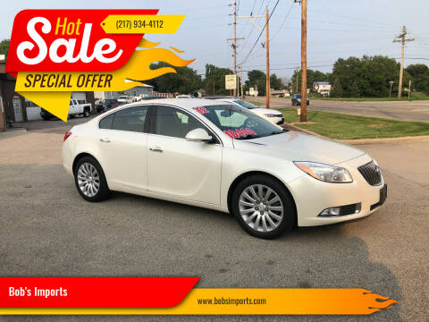 2012 Buick Regal for sale at Bob's Imports in Clinton IL