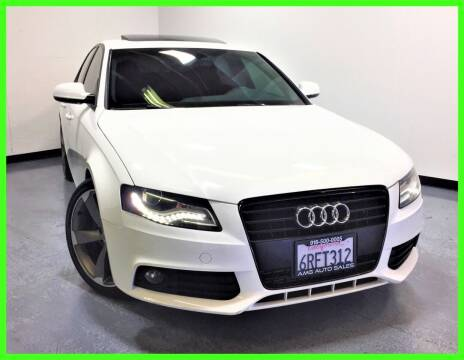 2011 Audi A4 for sale at AMG Auto Sales in Rancho Cordova CA