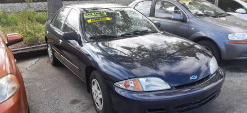 2002 Chevrolet Cavalier for sale at Easy Credit Auto Sales in Cocoa FL