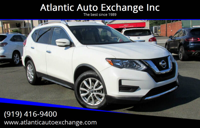 2017 Nissan Rogue for sale at Atlantic Auto Exchange Inc in Durham NC