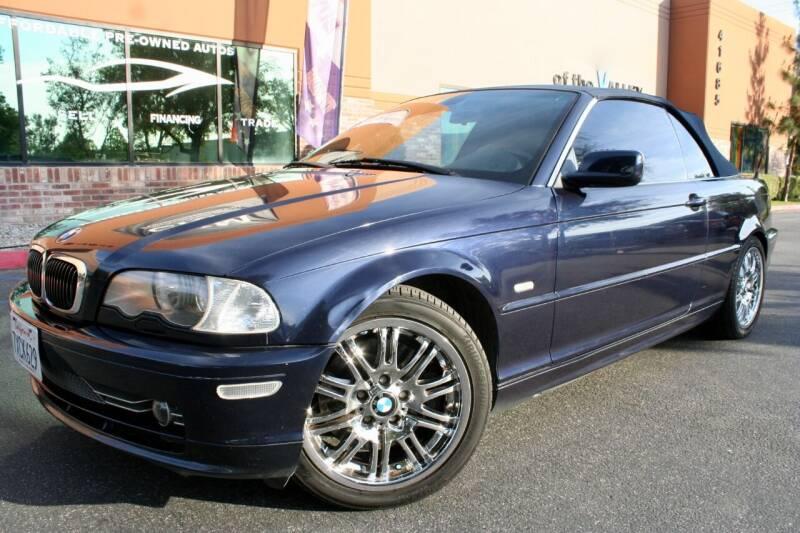 2002 BMW 3 Series for sale at CK Motors in Murrieta CA