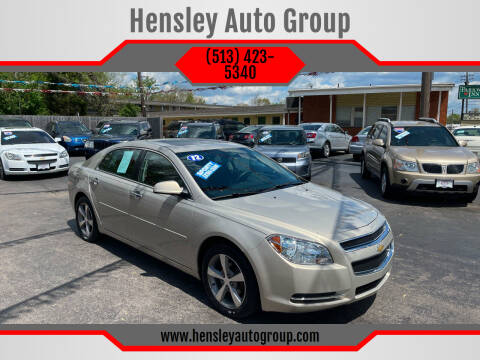 2012 Chevrolet Malibu for sale at Hensley Auto Group in Middletown OH
