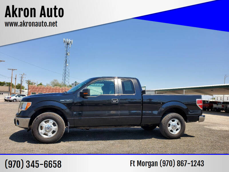 2010 Ford F-150 for sale at Akron Auto in Akron CO