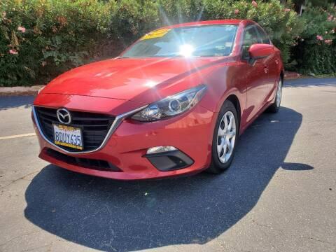 2015 Mazda MAZDA3 for sale at ALL CREDIT AUTO SALES in San Jose CA