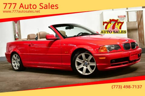2001 BMW 3 Series for sale at 777 Auto Sales in Bedford Park IL