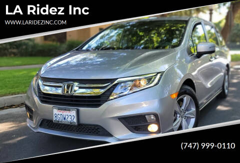 2019 Honda Odyssey for sale at LA Ridez Inc in North Hollywood CA
