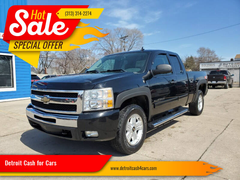 2011 Chevrolet Silverado 1500 for sale at Detroit Cash for Cars in Warren MI