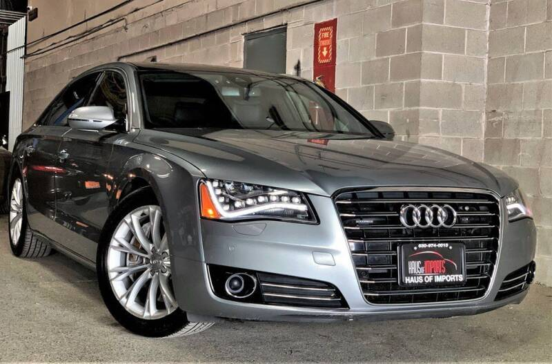 2011 Audi A8 L for sale at Haus of Imports in Lemont IL