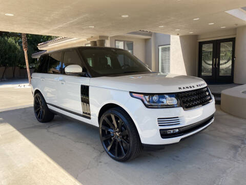 2015 Land Rover Range Rover for sale at Blue Diamond Auto Sales in Ceres CA