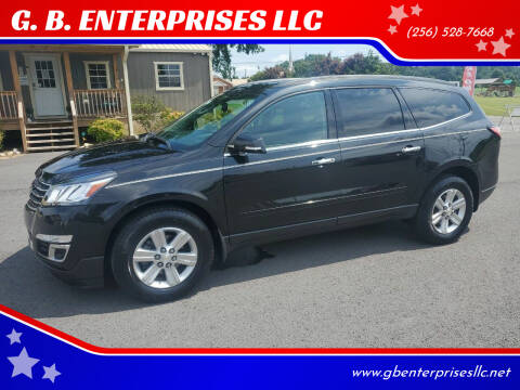 2014 Chevrolet Traverse for sale at G. B. ENTERPRISES LLC in Crossville AL