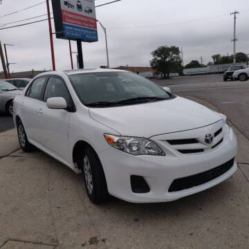 2011 Toyota Corolla for sale at Nationwide Auto Group in Melrose Park IL