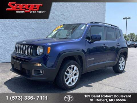 2017 Jeep Renegade for sale at SEEGER TOYOTA OF ST ROBERT in St Robert MO
