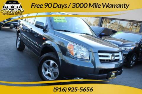2006 Honda Pilot for sale at West Coast Auto Sales Center in Sacramento CA