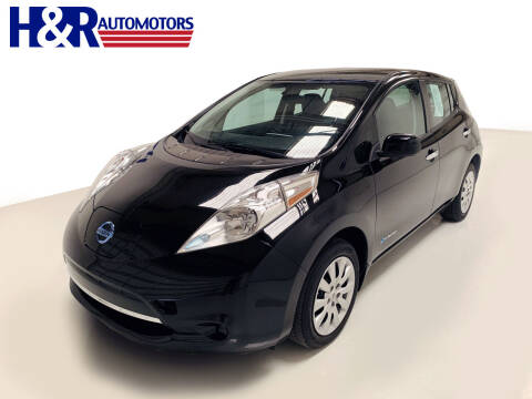 2016 Nissan LEAF for sale at H&R Auto Motors in San Antonio TX