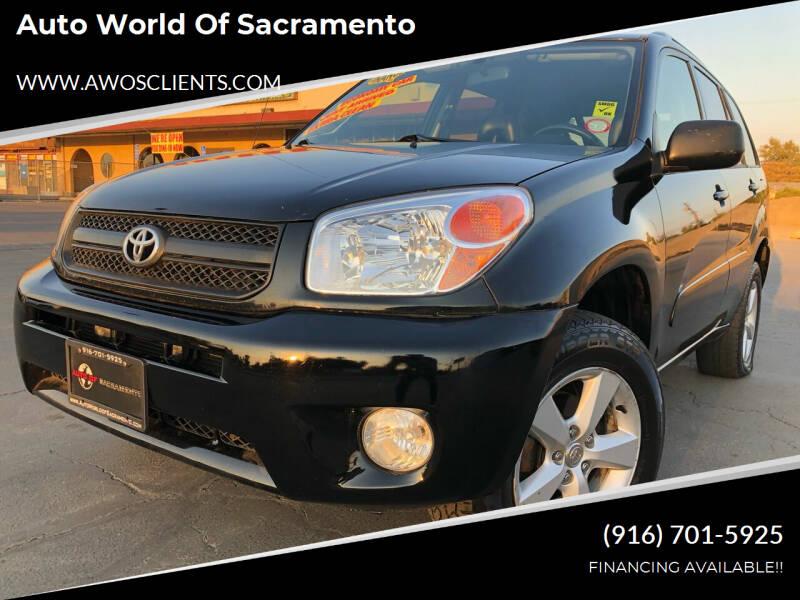 2004 Toyota RAV4 for sale at Auto World of Sacramento Stockton Blvd in Sacramento CA