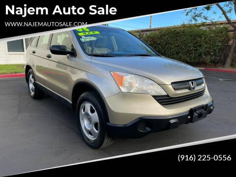 2008 Honda CR-V for sale at Najem Auto Sale in Sacramento CA