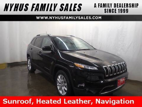 2017 Jeep Cherokee for sale at Nyhus Family Sales in Perham MN
