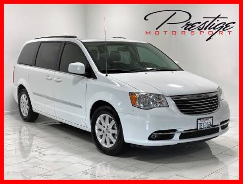 2013 Chrysler Town and Country for sale at Prestige Motorsport in Rancho Cordova CA