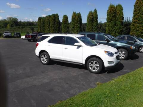 2016 Chevrolet Equinox for sale at Vicki Brouwer Autos Inc. in North Rose NY