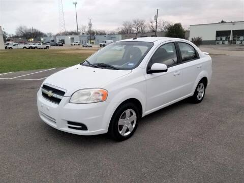 2009 Chevrolet Aveo for sale at Image Auto Sales in Dallas TX