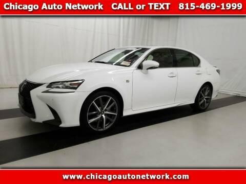 2016 Lexus GS 350 for sale at Chicago Auto Network in Mokena IL