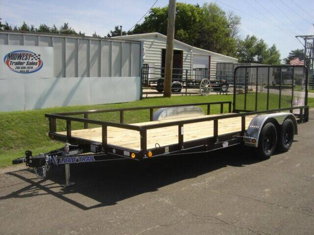 2021 83 X 18 LOAD TRAIL UTILITY for sale at Midwest Trailer Sales & Service in Agra KS