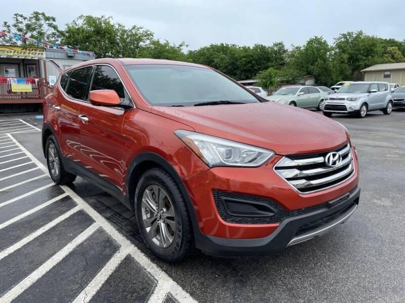 2014 Hyundai Santa Fe Sport for sale at Auto Solution in San Antonio TX