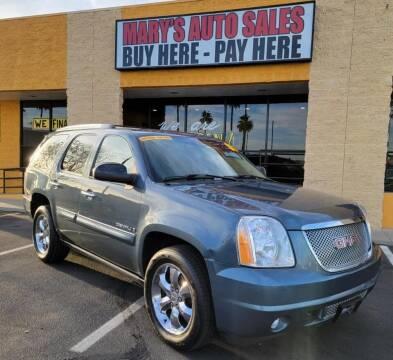 2008 GMC Yukon for sale at Marys Auto Sales in Phoenix AZ