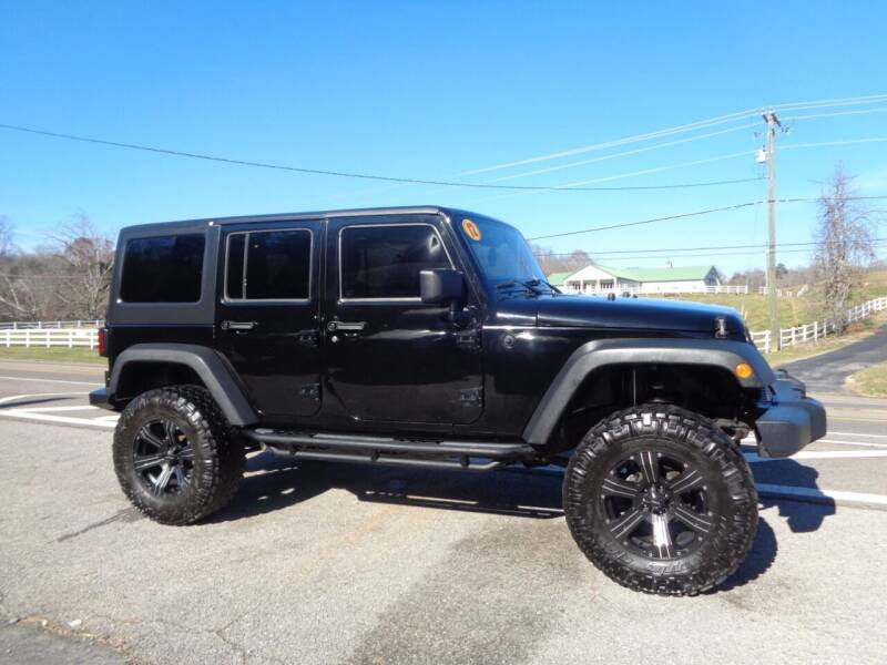 2012 Jeep Wrangler Unlimited for sale at Car Depot Auto Sales Inc in Seymour TN