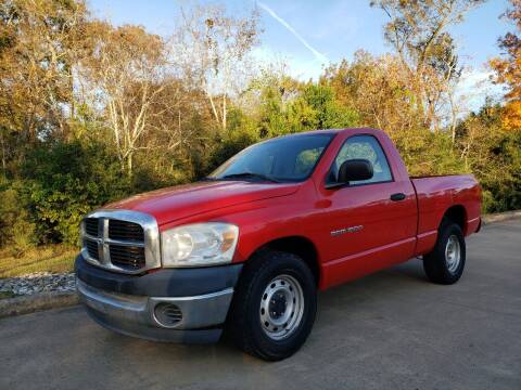 2007 Dodge Ram Pickup 1500 for sale at Houston Auto Preowned in Houston TX