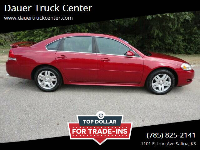 2013 Chevrolet Impala for sale at Dauer Truck Center in Salina KS