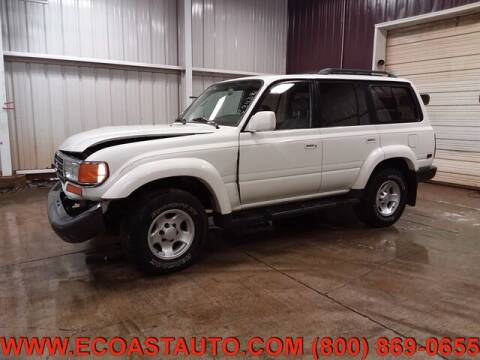 1996 Toyota Land Cruiser for sale at East Coast Auto Source Inc. in Bedford VA