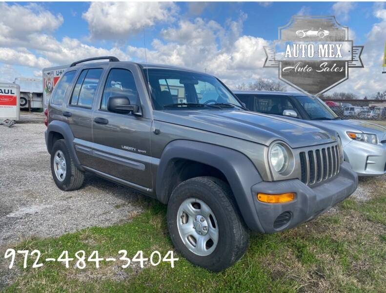 2003 Jeep Liberty for sale at AUTO-MEX in Caddo Mills TX