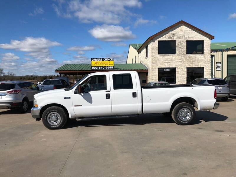 2004 Ford F-350 Super Duty for sale at Driver's Choice in Sherman TX