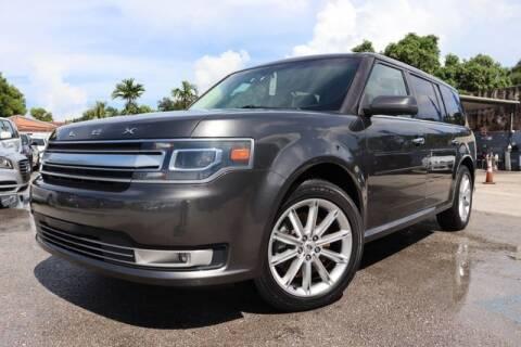 2018 Ford Flex for sale at OCEAN AUTO SALES in Miami FL