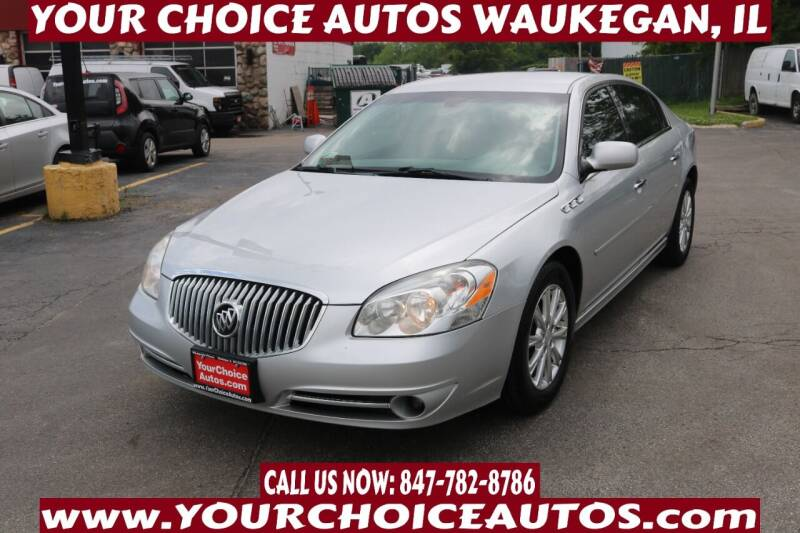 2011 Buick Lucerne for sale at Your Choice Autos - Waukegan in Waukegan IL