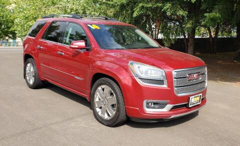 2014 GMC Acadia for sale at VIking Auto Sales LLC in Salem OR