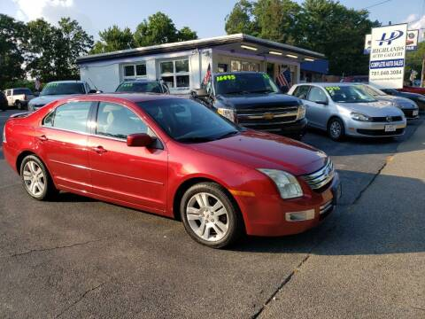 2008 Ford Fusion for sale at Highlands Auto Gallery in Braintree MA