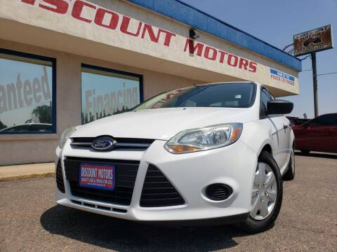 2014 Ford Focus for sale at Discount Motors in Pueblo CO