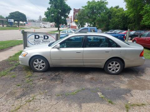 2001 Toyota Avalon for sale at D & D Auto Sales in Topeka KS