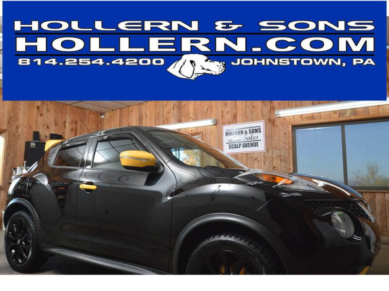 2016 Nissan JUKE for sale at Hollern & Sons Auto Sales in Johnstown PA