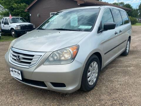 2008 Honda Odyssey for sale at Toy Box Auto Sales LLC in La Crosse WI