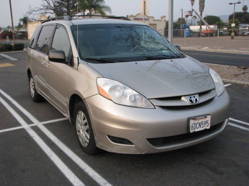 2008 Toyota Sienna for sale at M&N Auto Service & Sales in El Cajon CA