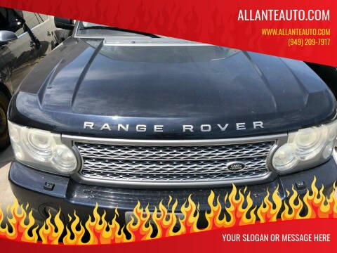 2006 Land Rover Range Rover for sale at AllanteAuto.com in Santa Ana CA