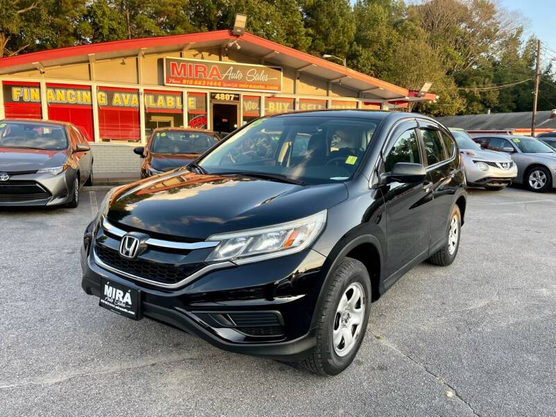 2015 Honda CR-V for sale at Mira Auto Sales in Raleigh NC