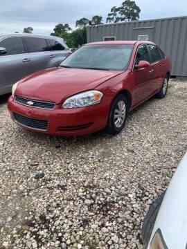 2008 Chevrolet Impala for sale at H-Town Elite Auto Sales in Houston TX