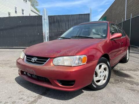 2001 Toyota Corolla for sale at Illinois Auto Sales in Paterson NJ
