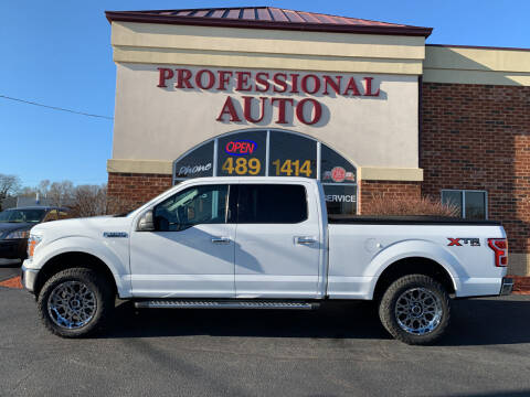 2018 Ford F-150 for sale at Professional Auto Sales & Service in Fort Wayne IN
