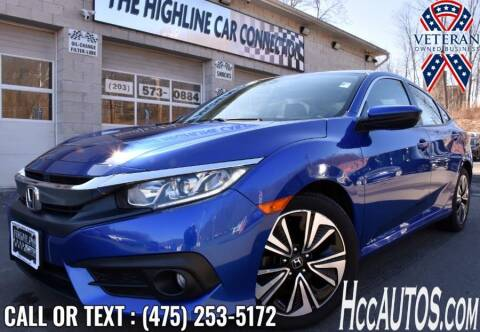 2016 Honda Civic for sale at The Highline Car Connection in Waterbury CT